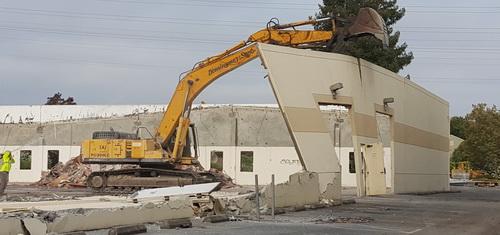 Industrial demolition